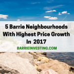 5 Barrie Neighbourhoods With The Highest Price Growth for Detached Homes