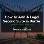 How to Add A Legal Secondary Suite in Barrie