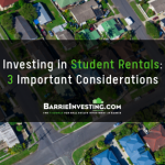 Investing in Student Rentals: 3 Important Considerations
